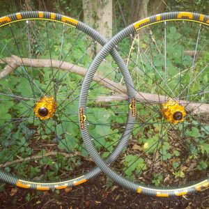 Blue Flow Wheels - Carbon Mountain Bike Wheels - 35MM Wide All Mountain Enduro