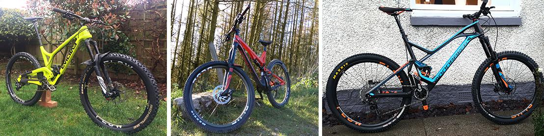Blue Flow Wheels - Carbon Mountain Bike Wheels - Big Performance