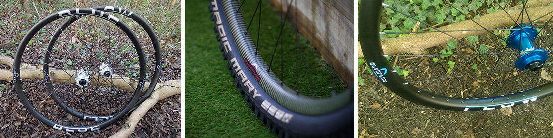 Blue Flow Wheels - Carbon Mountain Bike Wheels - Carbon Rims