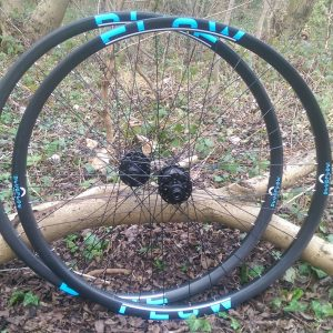 Blue Flow Wheels - Carbon Mountain Bike Wheels - Blue Flow 30mm Wide Trail / XC
