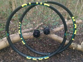 hand built mountain bike wheels Nottingham
