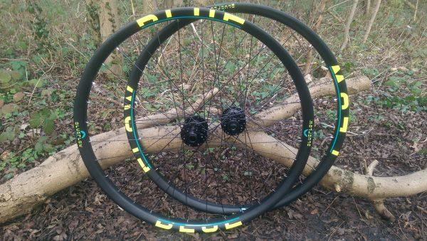 hand built mountain bike wheels Nottingham