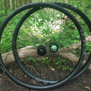 handbuilt carbon mountain bike wheels Nottingham