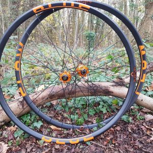 lightweight carbon XC wheel set, Blue Flow Wheels, MTB, Wheelsets, Mountain Bike Wheels, Custom built, Free UK Delivery