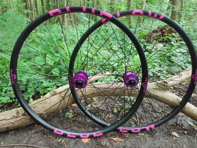 Blue Flow Wheels, MTB, Wheelsets, Mountain Bike Wheels, Custom built, Free UK Delivery
