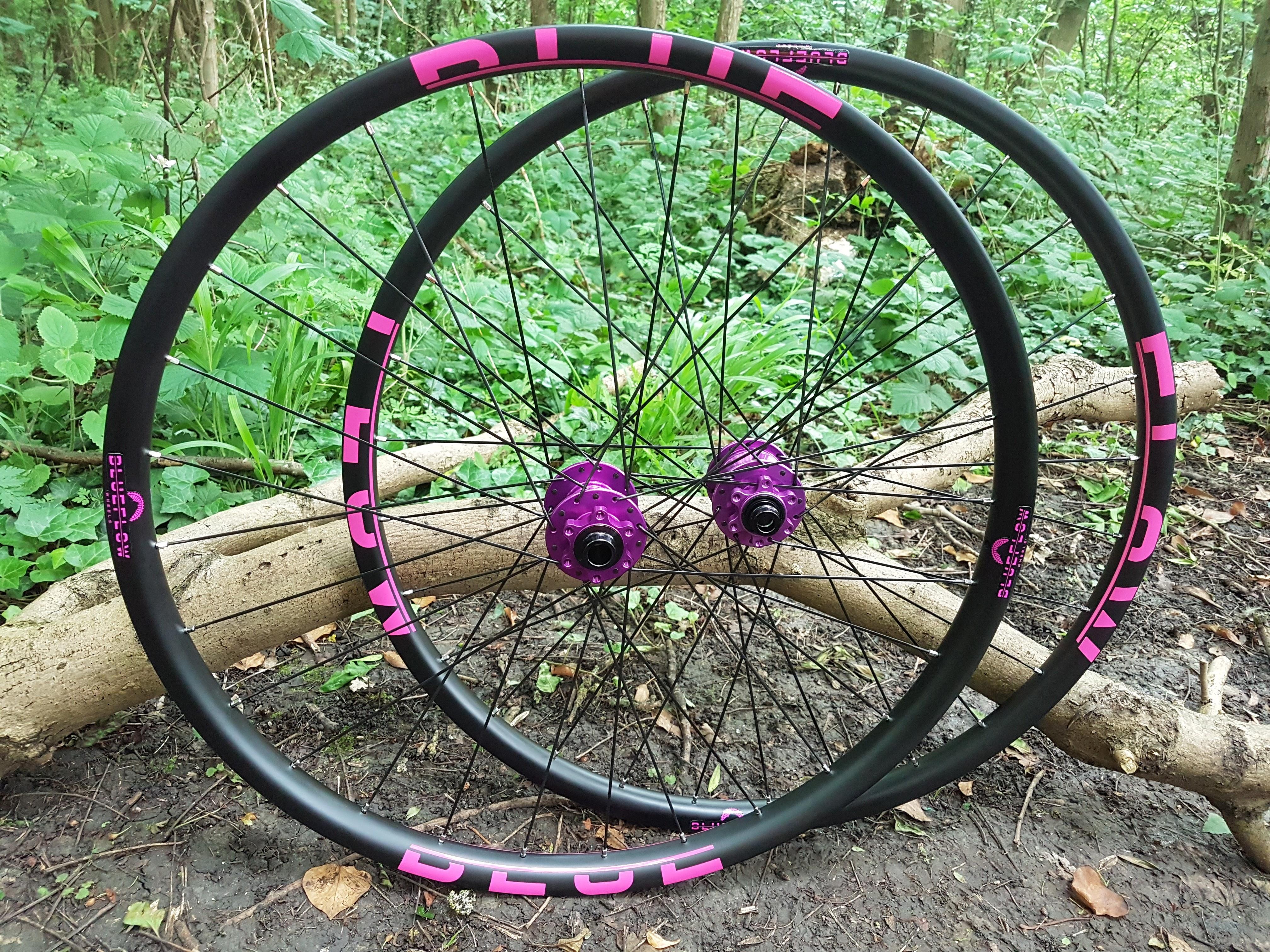 best value carbon mountain bike wheels UK, Blue Flow Wheels, MTB, Wheelsets, Mountain Bike Wheels, Custom built, Free UK Delivery